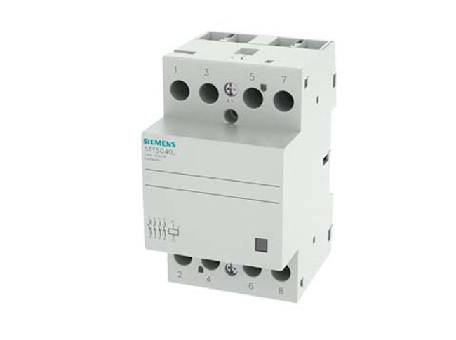 CONTACTOR MCB SIZE